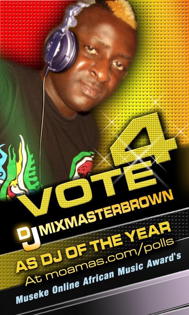 VOTE DJMIXMASTERBROWN