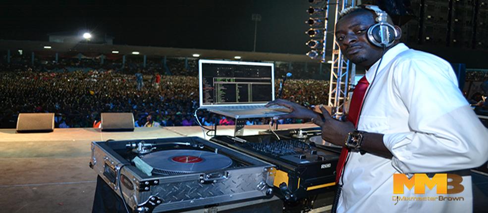 AFRICA'S TOP DJ MIXMASTERBROWN