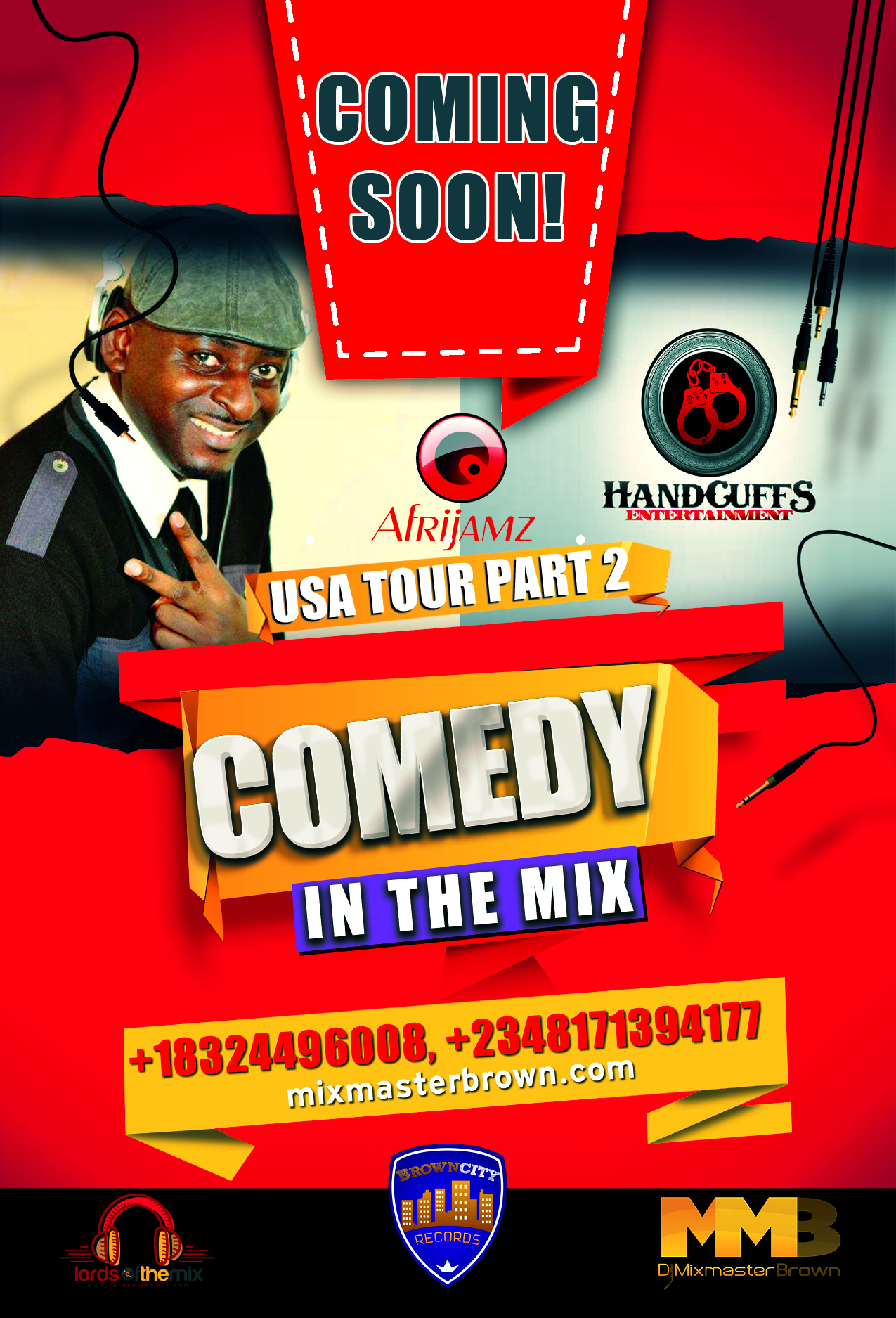 Comedy In The Mix - Senator, Funnybone & Dj Mixmasterbrown
