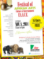 2014 Festival of African Arts, Culture, and Entertainment (F.A.A.C.E.)