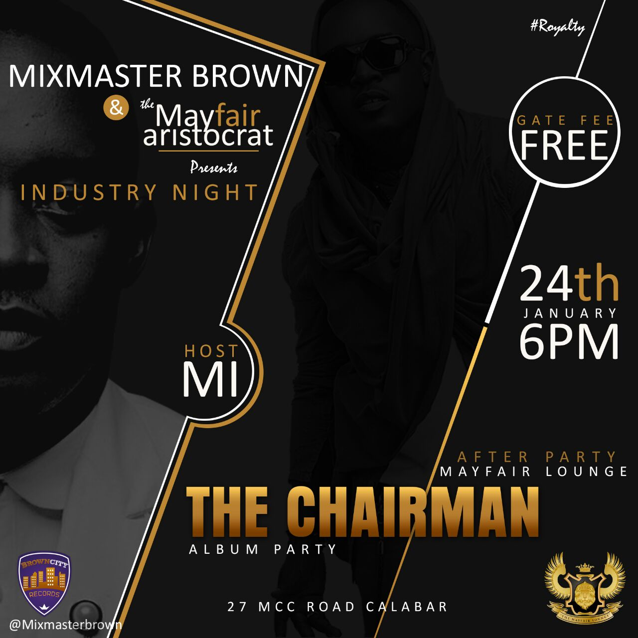 """Mixmasterbrown/Mayfair"