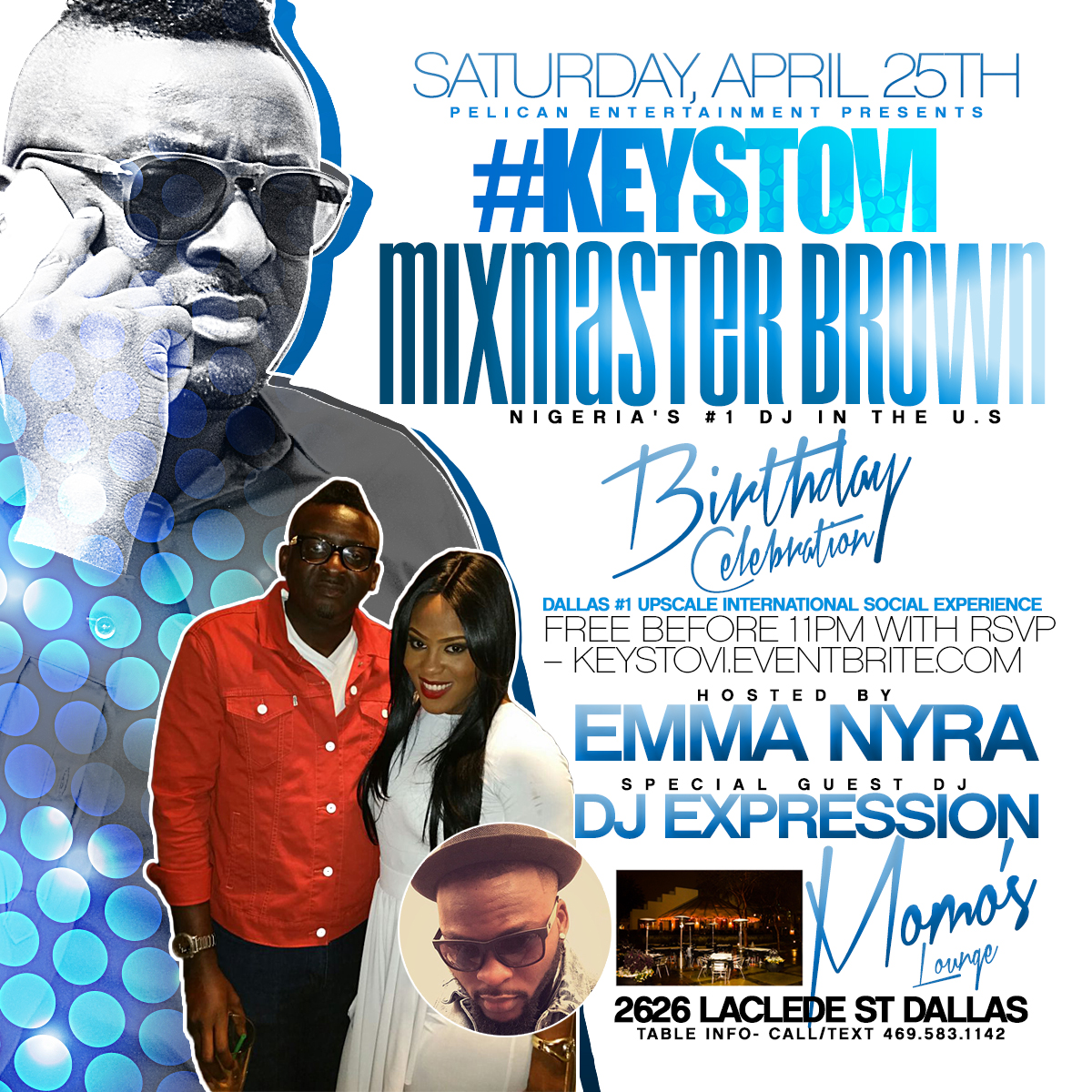 Dj Mixmasterbrown's Birthday Celebration