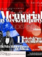 Memorial Weekend Party – Zanzibar