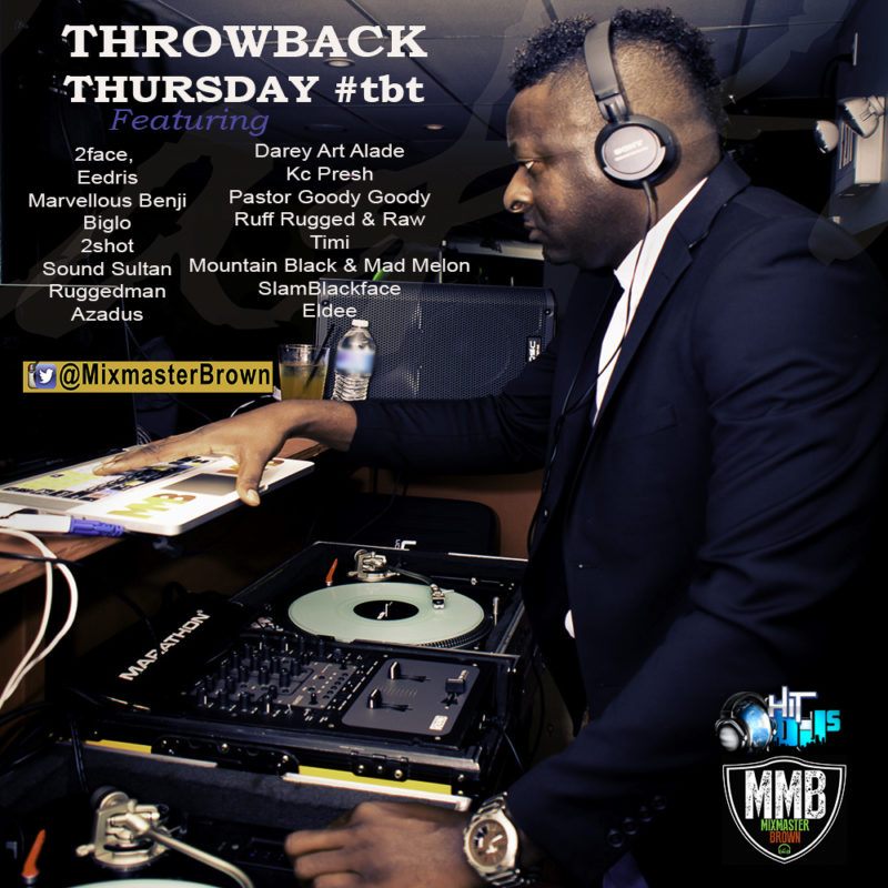 Afrobeat Throwback Thursday tbt Vol 1