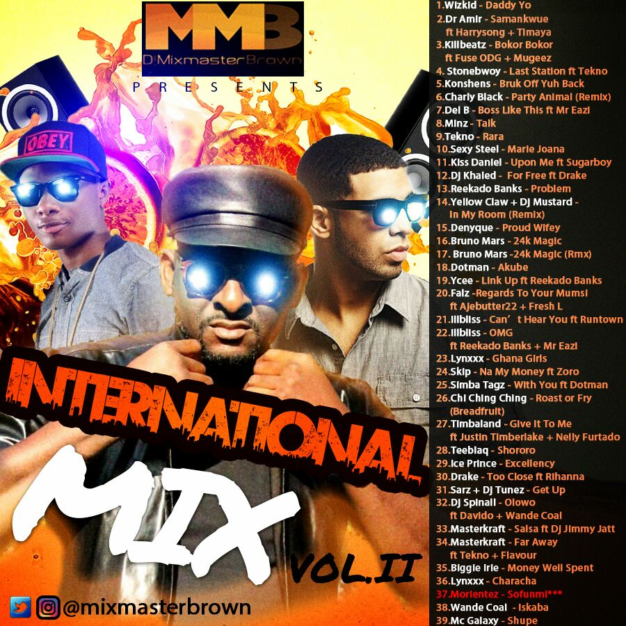Dj Mixmaster Brown - International Mix Vol 2