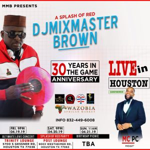 30 Years In The Game Celebrations » Djmixmasterbrown com